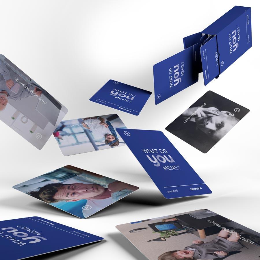 Change Kampagne für Beiersdorf