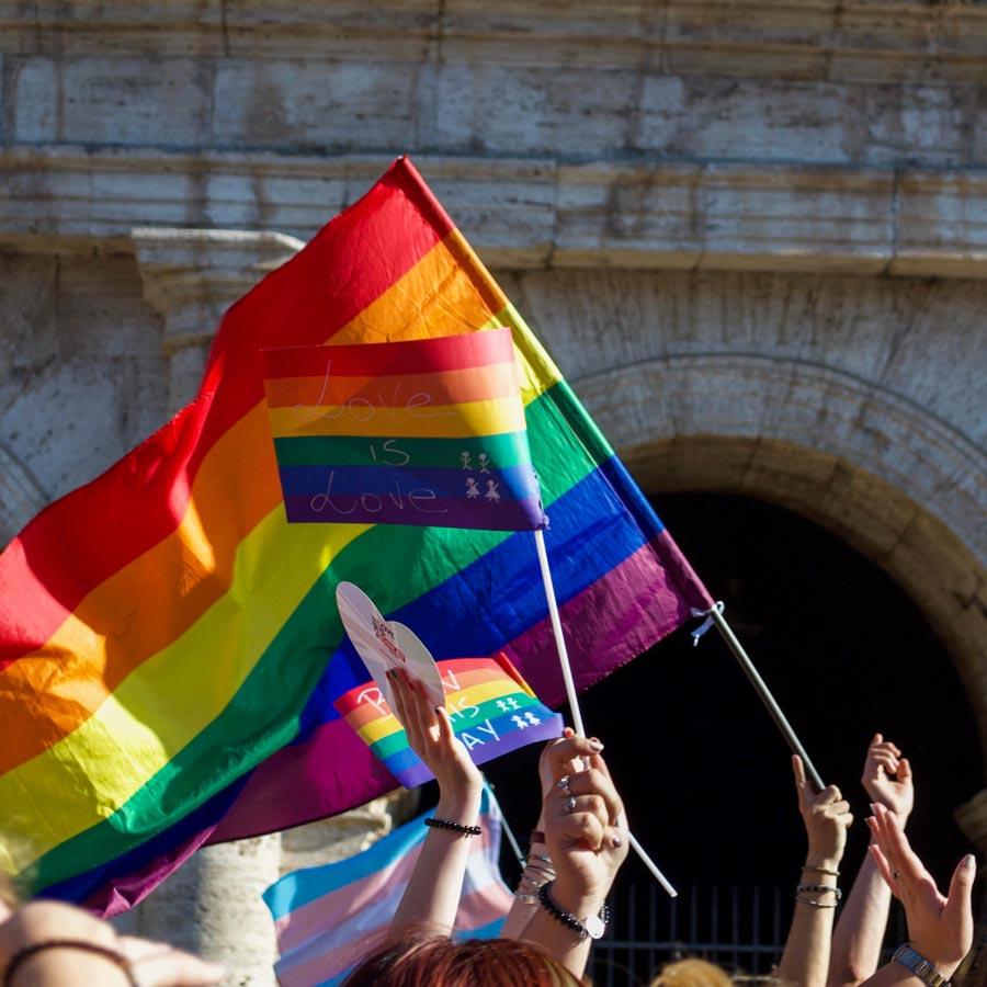 pride month Regenbogenfahne