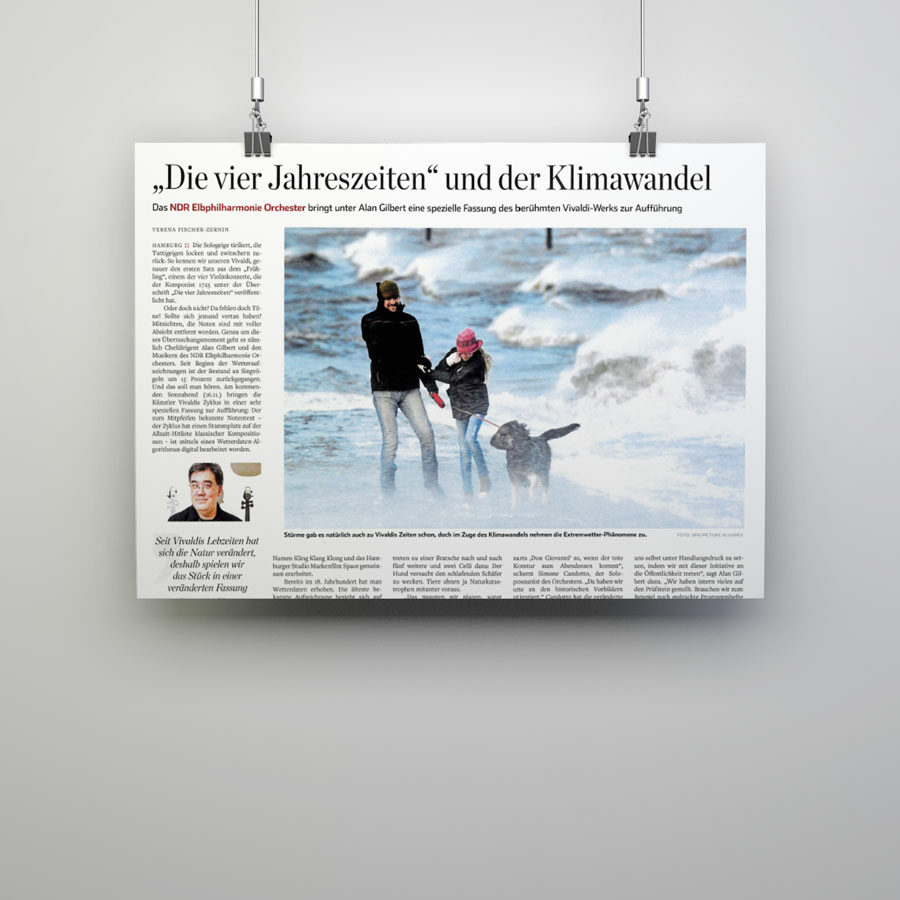 For Seasons Clipping Hamburger Abendblatt